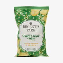 Queen crispy chips - Sour cream & onion Regent's Park