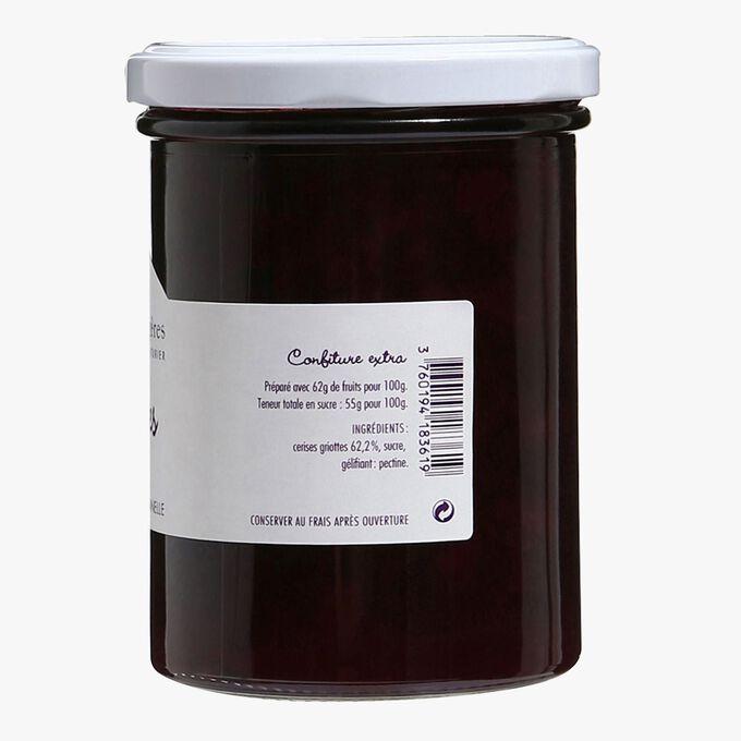Morello cherry extra jam La Cour d'Orgères