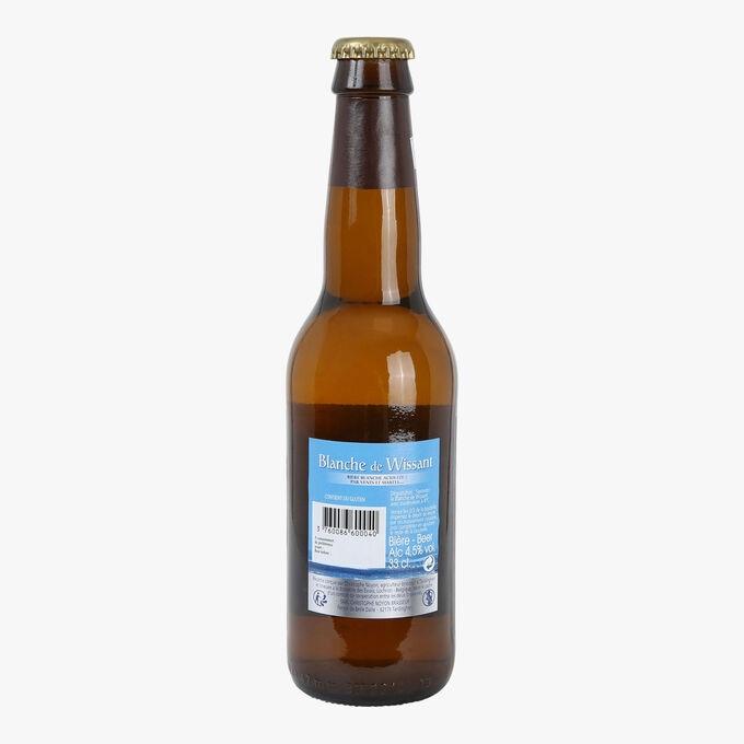 Bière blanche de Wissant Christophe Noyon