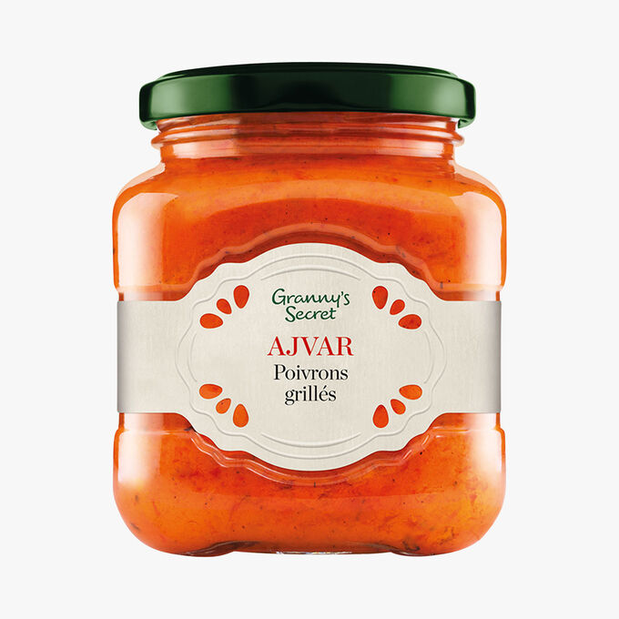 Ajvar, poivrons grillés Granny's Secret