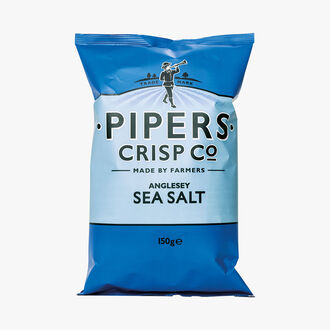 Sea salt crisps Pipers Crisp Co