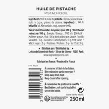Pistachio oil La Grande Épicerie de Paris