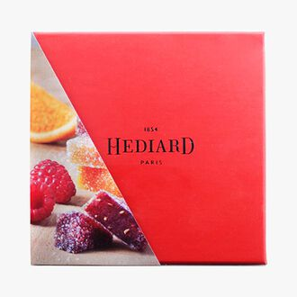 Assortiment de 16 pâtes de fruits Hediard
