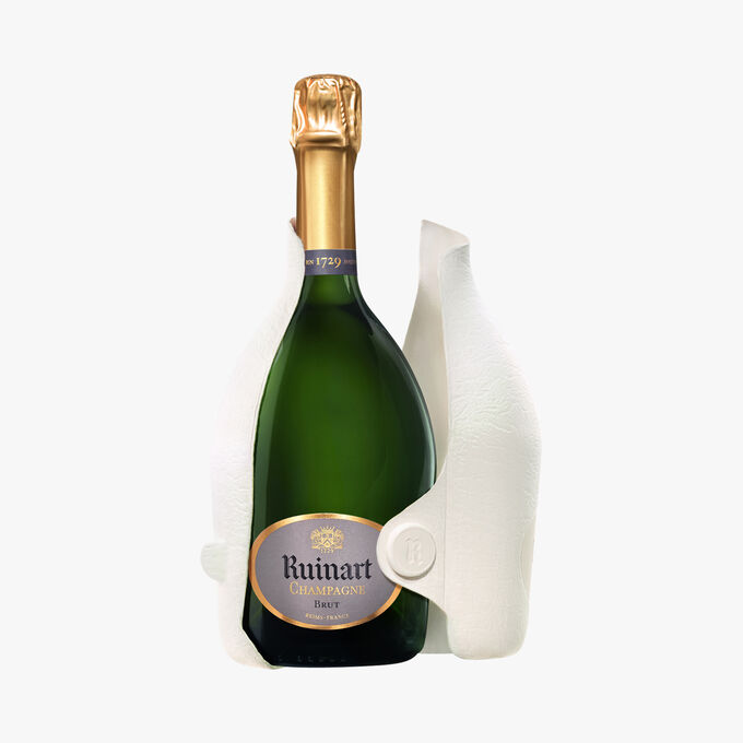 Champagne Ruinart Brut, étui Seconde Peau Ruinart