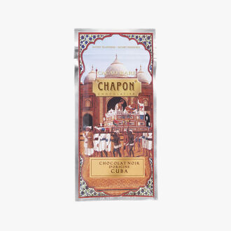 Cuba dark chocolate bar 75 % Chapon