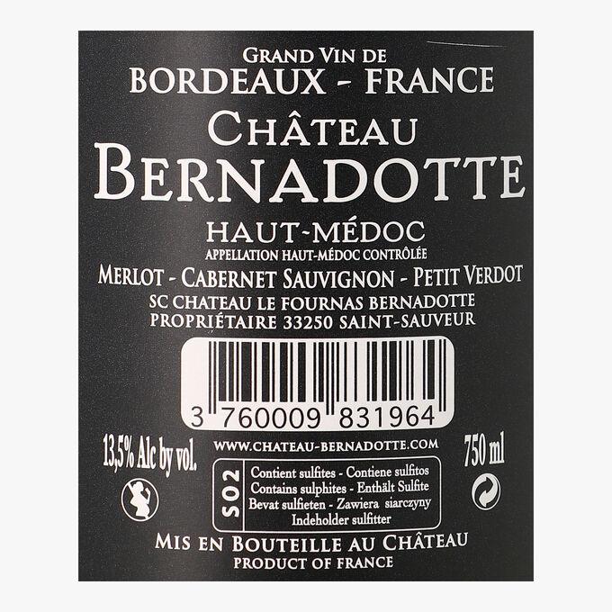 Château Bernadotte, AOC Haut-Médoc, 2015 Château Bernadotte