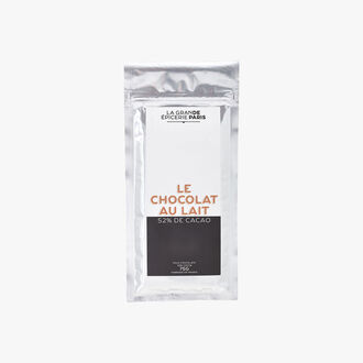 Le chocolat au lait 52 % de cacao La Grande Épicerie de Paris