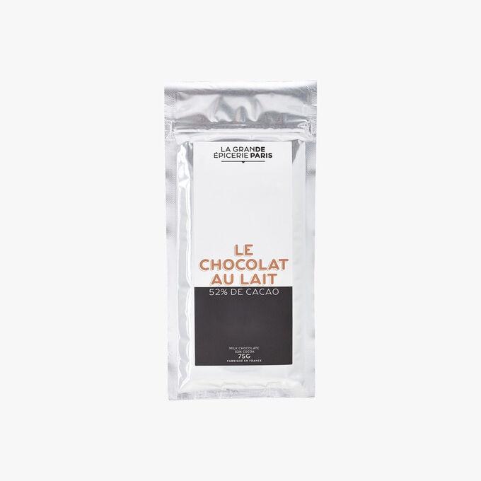 Tablette de chocolat au lait 52 % de cacao La Grande Épicerie de Paris