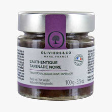 Authentic black tapenade Oliviers & Co