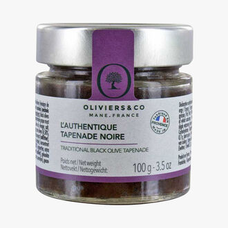 L'authentique tapenade noire Oliviers & Co