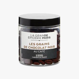 Les Grains de chocolat noir au café  La Grande Épicerie de Paris