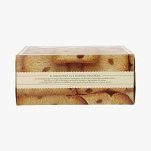 Biscottes aux raisins toastées Albert Ménès