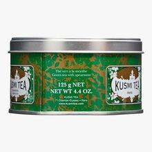 Spearmint Green Tea, metal tin Kusmi Tea