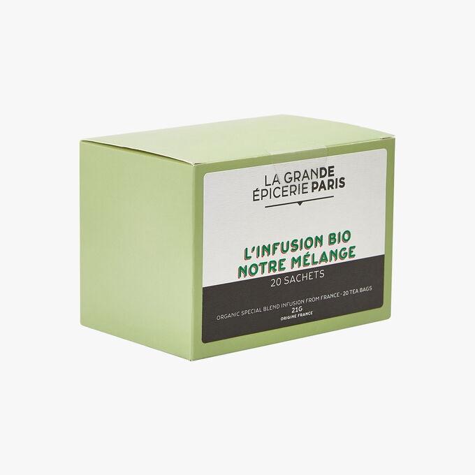 Our blend of organic herbal infusions 20 sachets La Grande Épicerie de Paris