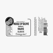 Préparation alimentaire à l'huile d'olive saveur truffe blanche Savor et Sens