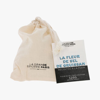 Fleurs de sel from Gruissan, harvested by hand La Grande Épicerie de Paris