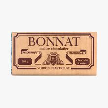 Bar of cooking chocolate Bonnat