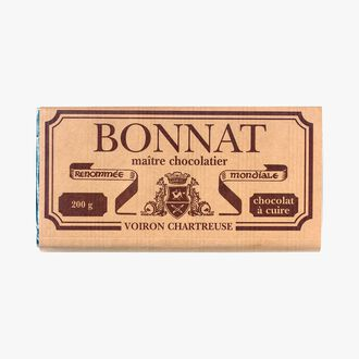 Bar of cooking chocolate Bonnat
