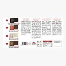 Assortiment de 36 carrés de chocolat Maxim's