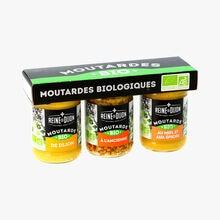 Moutardes biologiques Reine de Dijon
