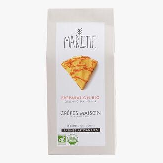 Préparation bio pour crêpes maison Marlette