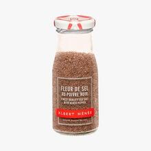 Fleur de sel au poivre noir Albert Ménès