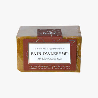 Aleppo Soap 35 %, Hypersensitive skin Tadé Pays du Levant