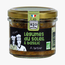 Vegetable and basil puree Bio du bocal