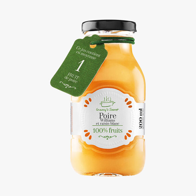 Pear and white grape juice Granny's Secret