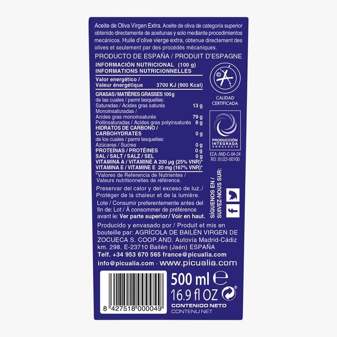 Extra virgin olive oil - Premium range Picualia