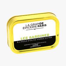 Les sardines à l'huile d'olive vierge extra La Grande Épicerie de Paris