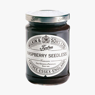 Seedless raspberry extra jam Wilkin & Sons