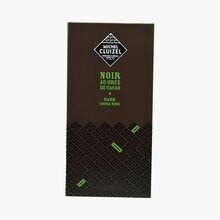 Dark chocolate with cocoa nibs Michel Cluizel