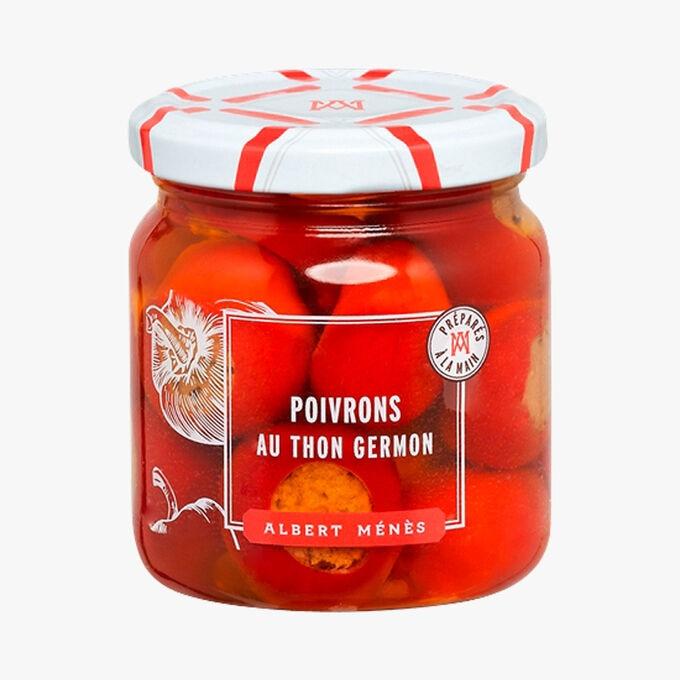 Poivrons Cherry fourrés au thon Germon Albert Ménès