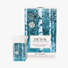 Organic Scandinavian detox, box of 20 muslin teabags Palais des Thés