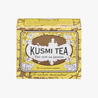 Jasmine Green Tea, box of 20 teabags  Kusmi Tea