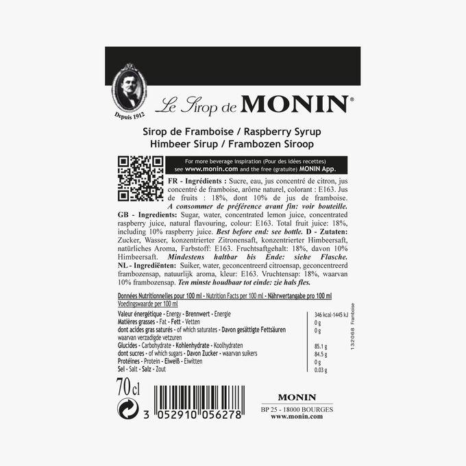 Raspberry cordial Monin