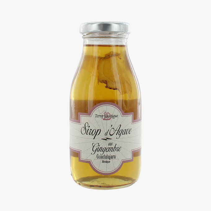 Agave syrup with ginger Terre Exotique