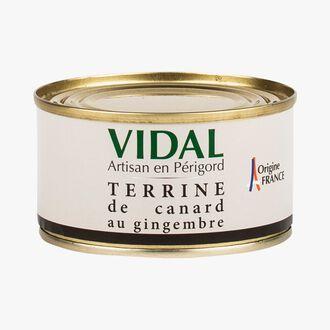 Duck terrine with ginger Vidal