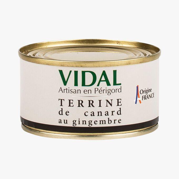 Terrine de canard au gingembre Vidal
