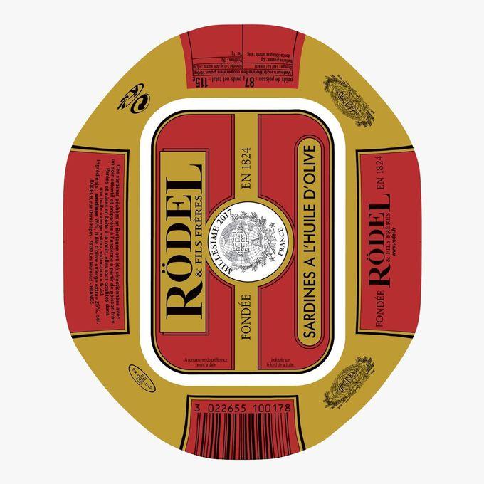 Sardines in olive oil Rödel