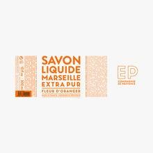 Savon liquide de Marseille Fleur d'Oranger Compagnie de Provence