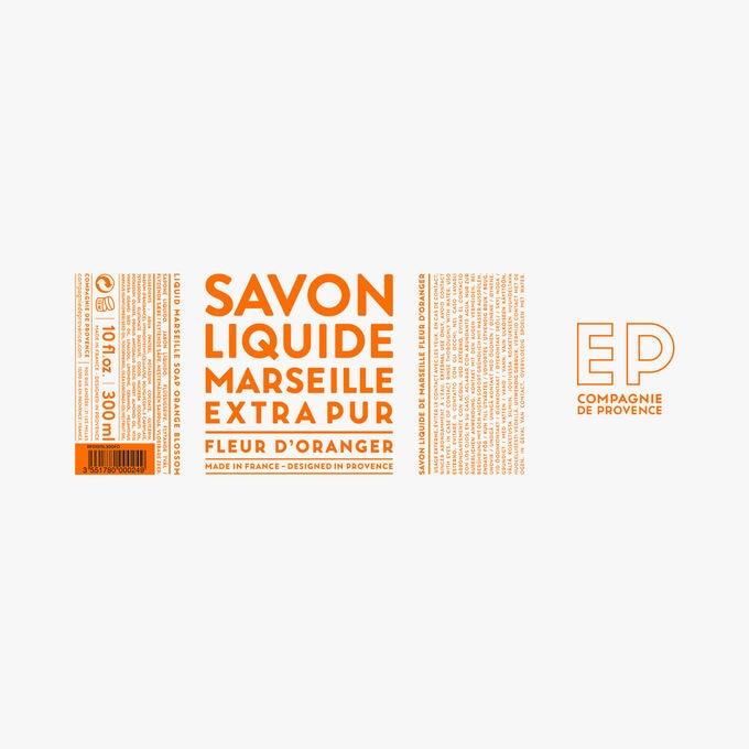 Orange Blossom liquid Marseille soap Compagnie de Provence