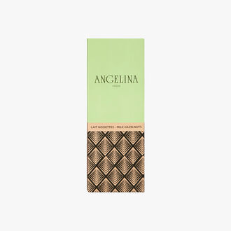 Milk chocolate bar with hazelnuts Angelina