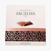 Petits-beurre enrobés de chocolat au lait et noir Angelina
