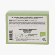 Organic fennel herbal infusion 20 sachets La Grande Épicerie de Paris