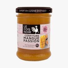 Mango passion fruit jam Le Coq Noir