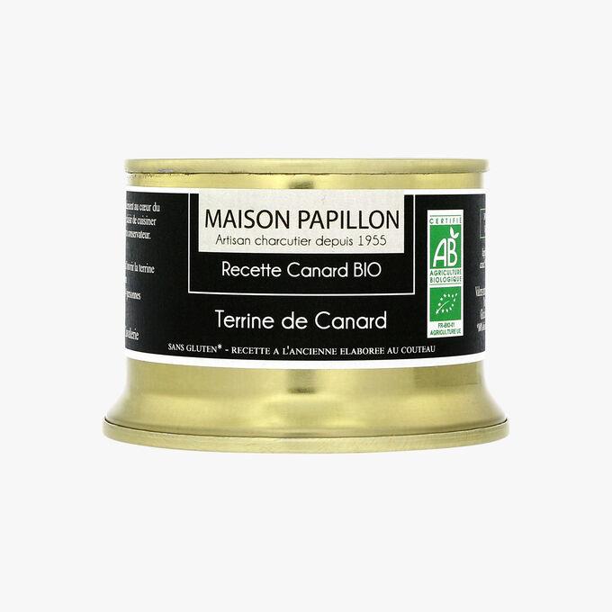 Terrine bio de canard Maison Papillon