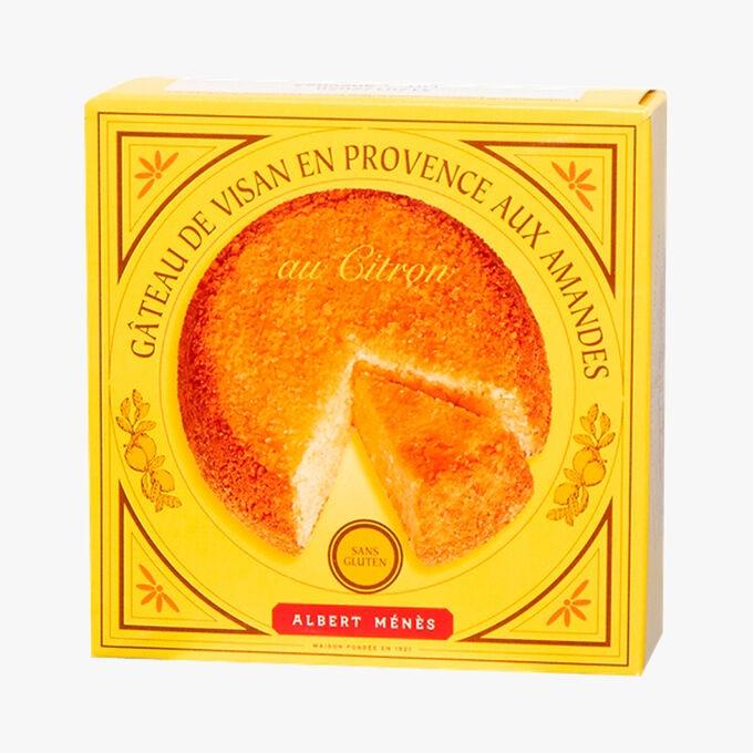 Gâteau de Visan en Provence aux Amandes et au Citron Albert Ménès