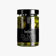 Olives vertes à l'huile d'olive vierge extra Kalios